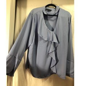 Sky blue blouse